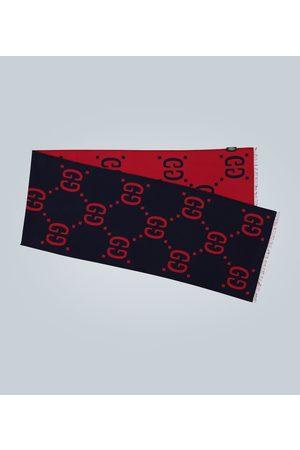 Gucci Kobieta Szaliki i Chusty - GG jacquard wool-silk scarf