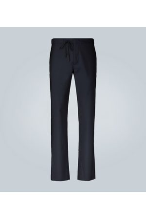 Maison Margiela Kobieta Spodnie eleganckie - Tailored drawstring wool formal pants