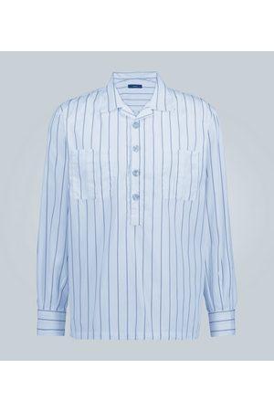 THE GIGI Kobieta Z długim rękawem - Striped half-placket shirt