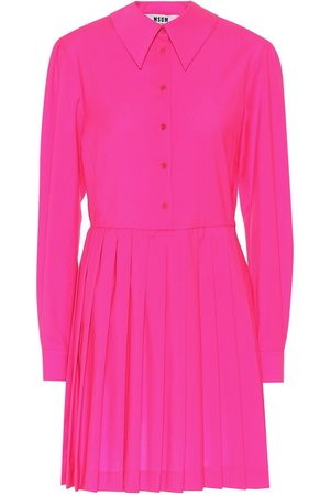Msgm Virgin wool shirt dress