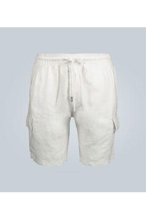 Vilebrequin Kobieta Szorty - Baie mid-length linen shorts