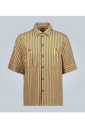 King and Tuckfield Kobieta Na co dzień - Striped short-sleeved shirt