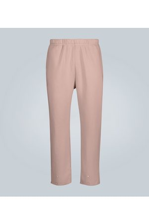 Les Tien Kobieta Spodnie dresowe - Snap buttoned cotton sweatpants