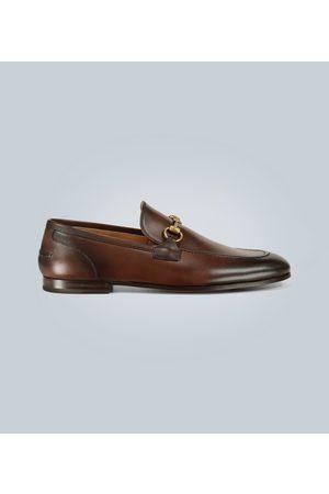 Gucci Kobieta Brogsy i Mokasyny - Jordaan leather loafers