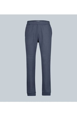 Sunspel Cotton loopback sweatpants