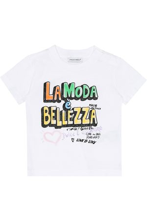 Dolce & Gabbana Baby printed cotton T-shirt
