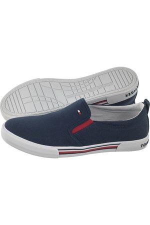 Tommy Hilfiger Kobieta Tenisówki i Trampki - Trampki Low Cut Sneaker T3B4-30691-0890 800 Blue (TH86-a)