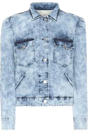 Isabel Marant, Étoile Kobieta Jeansy - Iolinea denim jacket