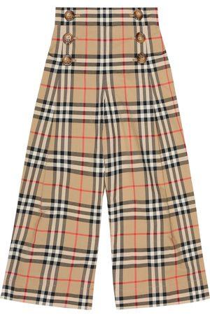 Burberry Tilda Vintage Check cotton pants