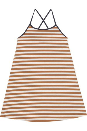Caramel Tooting stretch-cotton dress