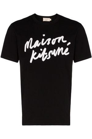 Maison Kitsuné Mężczyzna Z krótkim rękawem - Black