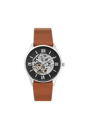 Skagen Zegarek - Holst Automatic SKW6613 Brown/Silver