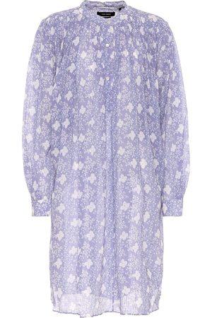 Isabel Marant Erika cotton and silk shirt dress