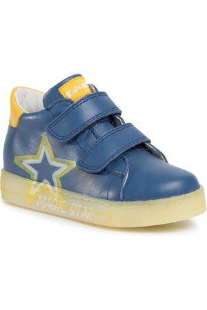 Naturino Sneakersy - Falcotto by Nedo 0012014647.01.1C81 Azurro/Giallo
