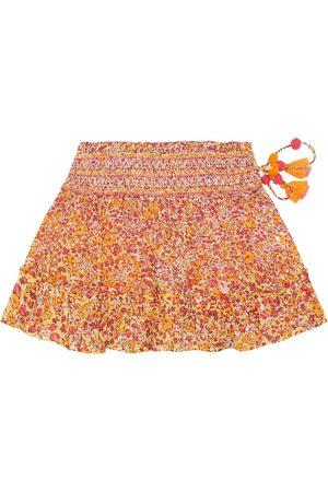 POUPETTE ST BARTH Irma floral cotton skirt