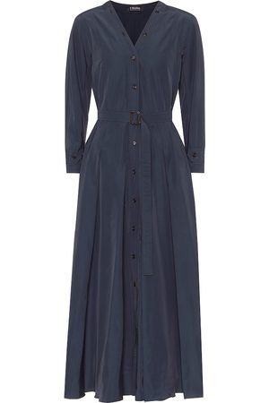 Max Mara Panca cotton-blend shirt dress