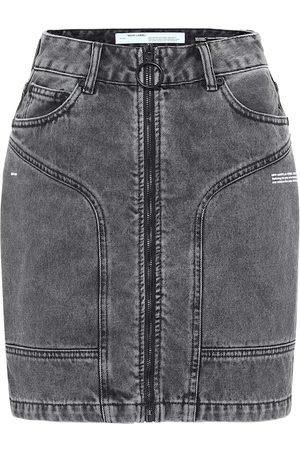 OFF-WHITE Denim miniskirt