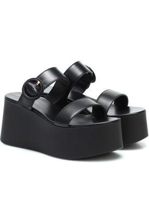 Gianvito Rossi Platform leather sandals