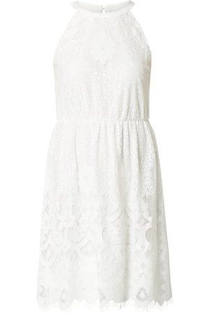 Vila Kobieta Sukienki mini - Sukienka z ażurowej koronki model 'Elvas'