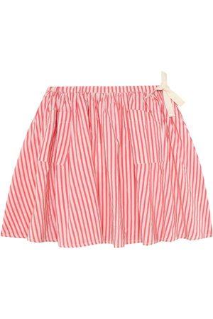 Caramel Dziewczynka Spódnice - Norton striped stretch-cotton skirt