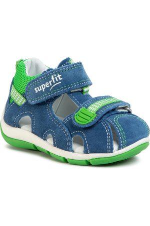 Superfit Sandały - 6-00140-80 M Blau/Grun