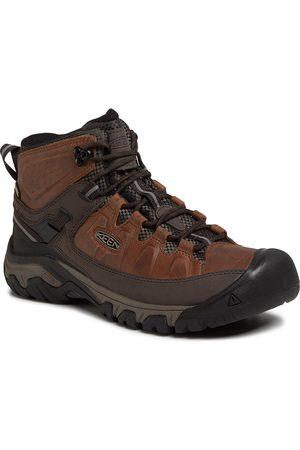 Keen Mężczyzna Buty trekkingowe - Trekkingi - Targhee III Mid Wp 1023030 Chestnut/Mulch