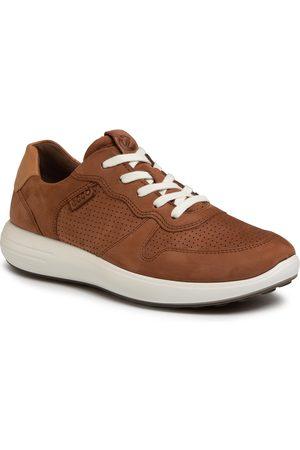 Ecco Sneakersy - Soft 7 Runner M 46063450436 Mahogany/Lion