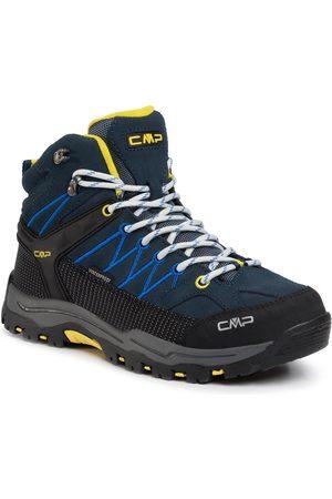CMP Dziewczynka Buty trekkingowe - Trekkingi - Kids Rigel Mid Trekking Shoes Wp 3Q12944J Cosmo/Lemonade 08NE