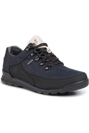 NIK Mężczyzna Buty trekkingowe - Trekkingi - 03-0947-41-3-09-03 Granatowy