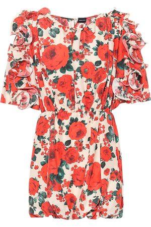MAGDA BUTRYM Lleida floral silk dress
