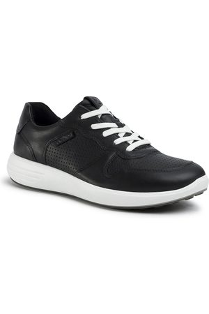 Ecco Sneakersy - Soft 7 Runner M 46063451052 Black/Black