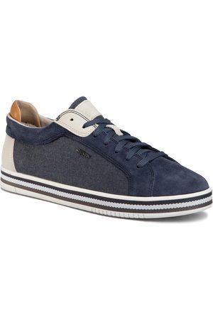 Geox Sneakersy - U Eolo A U028RA 022NB C4005 Avio