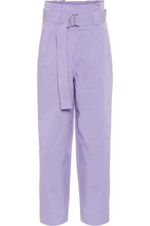 Ganni High-rise straight pants