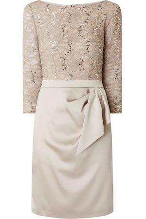Marie Noir Sukienka koktajlowa z drapowaniem