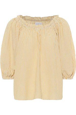 Velvet Briella cotton-blend top