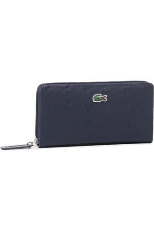 Lacoste Duży Portfel Damski - L Zip Wallet NF2900PO Eclipse 141