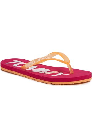 Tommy Hilfiger Kobieta Sandały - Japonki - Pop Color Beach Sandal EN0EN00849 Blush Red XIF