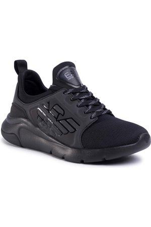 EA7 Buty casual - Sneakersy - X8X057 XCC55 M620 Black/Black