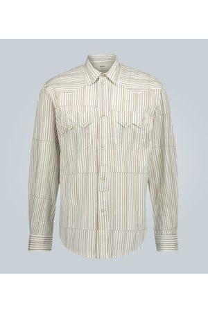 Phipps Mężczyzna Na co dzień - Rockhound Tectonic stripe shirt
