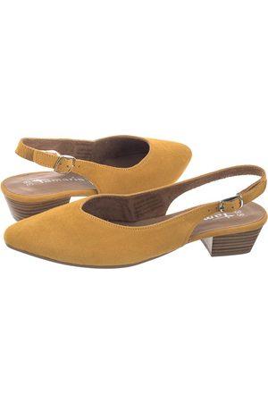 Tamaris Kobieta Szpilki i czółenka - Sandały Zółte 1-29405-24 602 Sun (TM256-a)