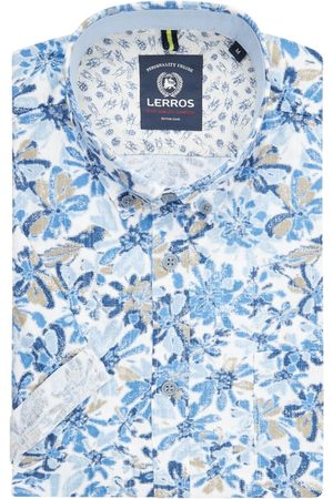 Lerros Mężczyzna Na co dzień - Koszula casualowa o kroju regular fit z bawełny