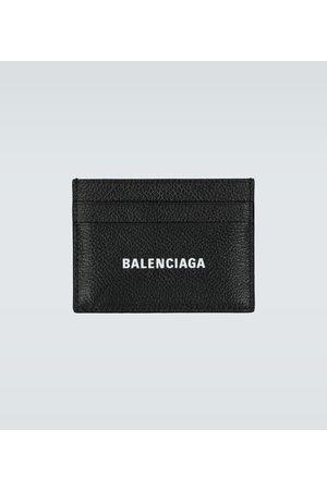 Balenciaga Portmonetki i Portfele - Cash leather card holder