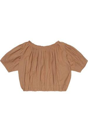 Caramel Queens Park cotton blouse