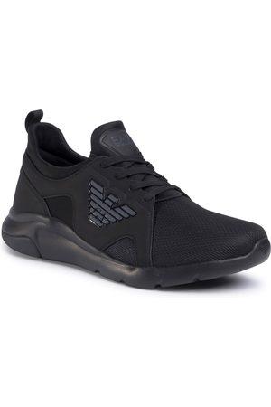 EA7 Sneakersy - X8X056 XCC56 M619 Triple Black/Antracite
