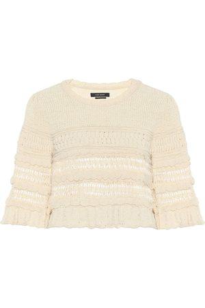 Isabel Marant Friz cropped cotton-blend sweater