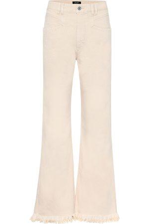 Isabel Marant Elvira high-rise wide-leg jeans