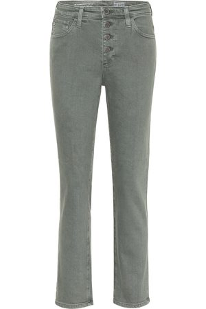 AG Jeans Isabelle high-rise straight jeans