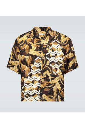 CMMN SWDN Kim Geometric printed shirt