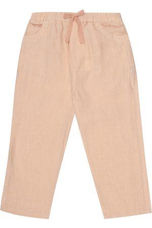 Caramel Aldgate linen pants