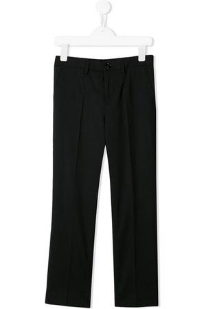 Dolce & Gabbana Kids Chłopiec Spodnie eleganckie - Black
